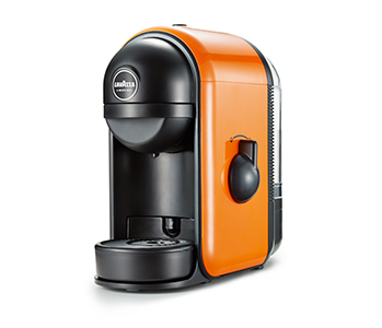 macchina da caff lavazza a modo mio min arancione la brasiliana del caff. Black Bedroom Furniture Sets. Home Design Ideas